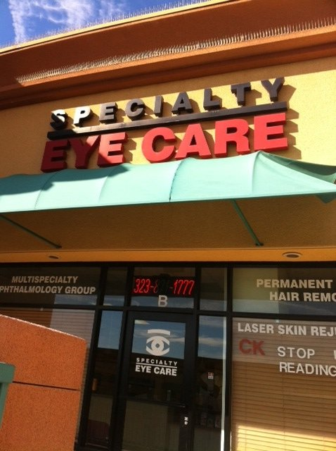 Specialty Eye Care Eye Exam | Eye Care Treatment ...
